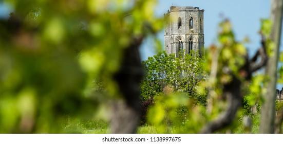Abbey de la Sauve-Majeure, Route to Santiago de Compostela, France, UNESCO