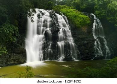 Abbey falls in the coorg region of KArnataka India
