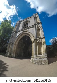 The Abbey Gate is the entrance to the Abbey Gardens in Bury St Edmunds, Suffolk