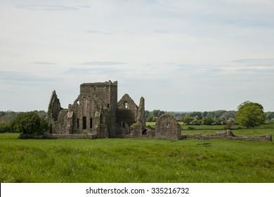 the Abbey of Hore, a 13th century Cistercian monastery, Cashel, Ireland