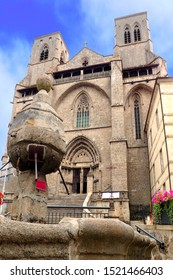the Abbey of La Chaise-Dieu, in Auvergne, is a former Benedictine abbey, located in the village of La Chaise-Dieu in the Haute-Loire department in France