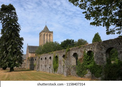 The Abbey of La Lucerne in Normandy