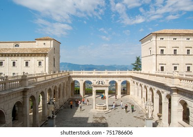 Abbey of Monte Cassino, Italy