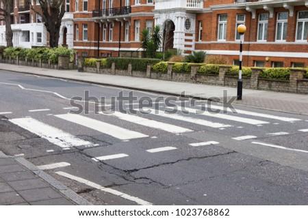 Abbey road crossroad London