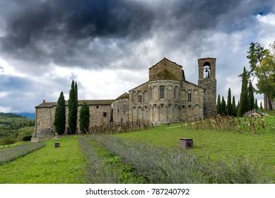 Abbey of romena italy
