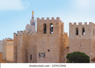 Abbey Saint-Victor and Basilica Notre-Dame de la Garde - Marseille France