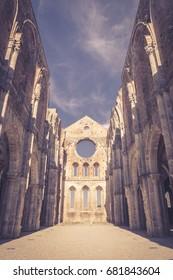 Abbey of San Galgano - Tuscany - Italy