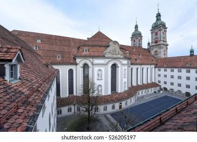 Abbey of St. Gallen on Switzerland, Unesco world heritage