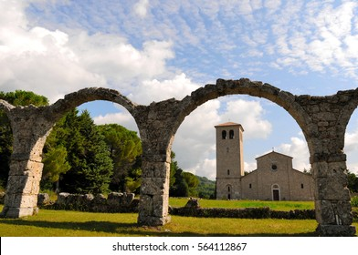 Abbey of St Vincent, Molise Italy