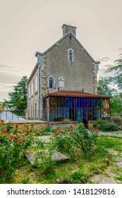 abbot Sauniere house rennes le chateau city in Aude in  France
