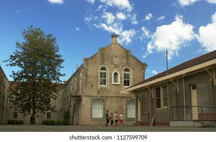 Abbotsford, VIC/Australia - Sep 22 2013: Abbotsford Convent