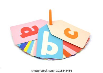 abc alphabet baby learning cards
