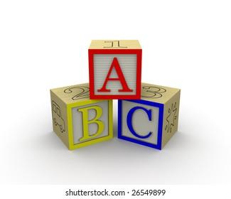 ABC Blocks together