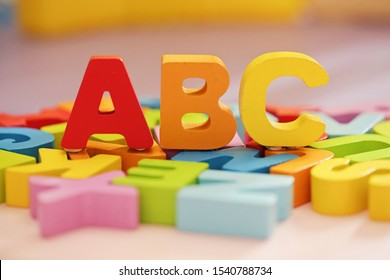 ABC - children's alphabet learning set