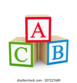 A,B,C letters