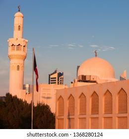 Abdulaziz Al Othman Mosque in Kuwait City. Kuwait City, Kuwait.