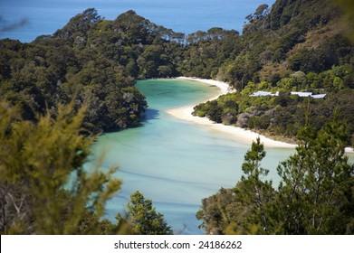 Abel Tasman in New Zealand
