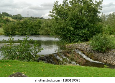 Aberdare, UK - 09 15 2018: Dare Country Park in Aberdare Wales.