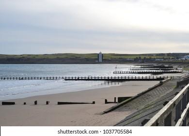 Aberdeen Beach, Scotland. 09/02/18.