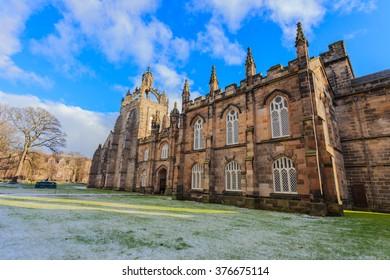 ABERDEEN SCOTLAND -14 FEBUARY 2016 : Aberdeen University King's College building. This is the oldest university in Aberdeen.