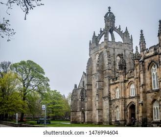 Aberdeen Scotland 27/04/2019. King's College Chapel in Old Aberdeen