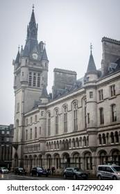 Aberdeen, Scotland- 28/04/2019 Aberdeen Sheriff Court in Castlegate Square Aberdeen