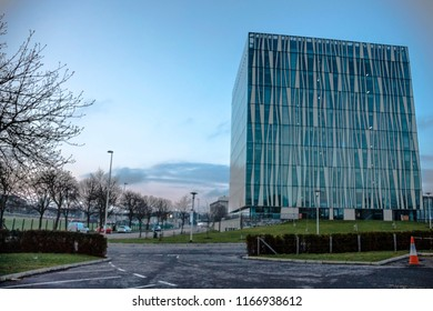 Aberdeen, Scotland / United Kingdom - April 3 rd 2016: The Sir Duncan Rice Library