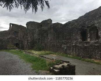 Abergavenny castle Wales