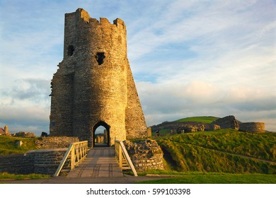 Aberystwyth Castle, Tower, Ceredigion, West Wales, UK