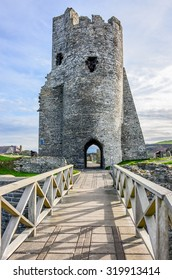 Aberystwyth Castle of Wales UK