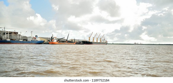 Abidjan Port, 27 September 2018, Ivory Coast
