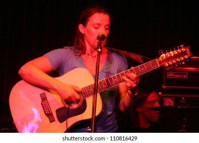 Abigail Hopkins performing a concert at the Cat Club, Hollywood, CA. 08-16-07