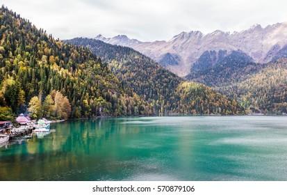 Abkhazia, Lake Riza (Ritsa)