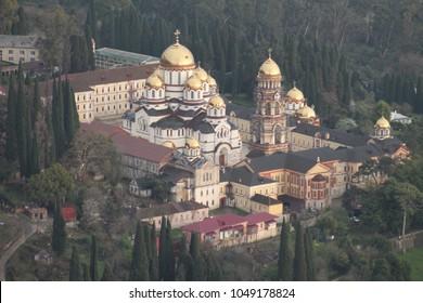 Abkhazia New Athos area