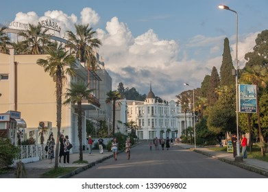 ABKHAZIA SUKHUMI 2018 SEP street view in Sukhumi, Abkhazia