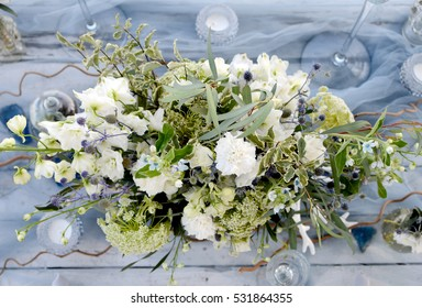 Blue Christmas Flowers Stock Photos Images Photography Shutterstock