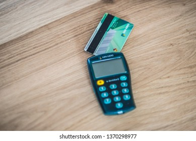 Abn Amro Edentifier2, means of payment to transfer and receive money. Amsterdam - Netherlands 15 april 2019