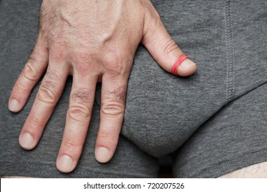 An abnormal tightness of the foreskin preventing retraction over the glans/ Phimosis - theme interpretation A