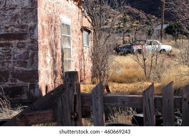 Abondoned house in the Mountains
