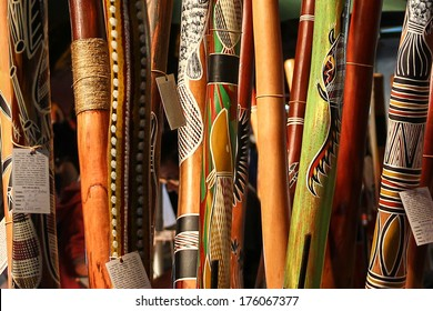 Aboriginal instrument, didgeridoo
