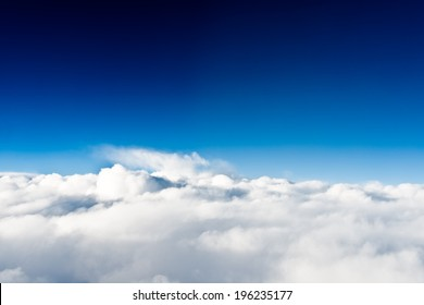 Above the clouds