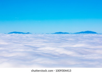 Above the Clouds in Coburg Hills of Oregon