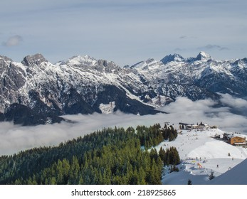 Above the clouds. Pila, Valle d'Aosta, Italy.