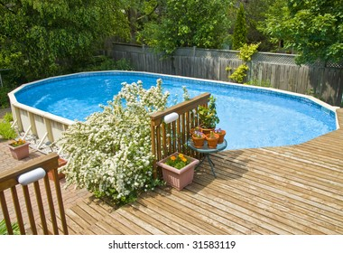 Above Ground Pool Images Stock Photos Vectors Shutterstock