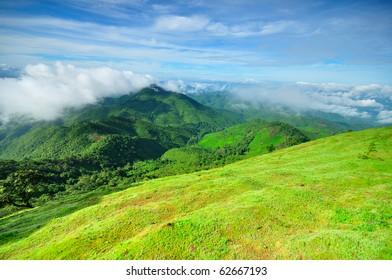 above mountain,Thailand