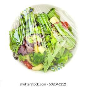 Plastic Wrap Food Images, Stock Photos & Vectors | Shutterstock