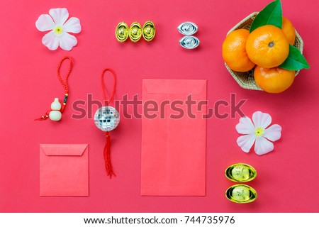 Above View Shot Accessories Chinese New Stockfoto (Jetzt bearbeiten ...
