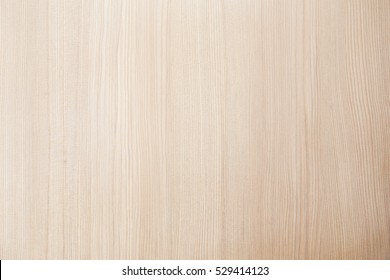 Above view shot bright siding bleached wood floor texture background. Luxury plain formica clean table top bacground in studio concept for clear tabletop wooden desk, seamless veneer birch door board.