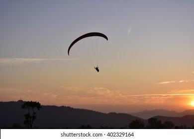 Up above the world so high ----Paragliding at Bir Billing Dharmshala India