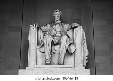 Abraham Lincoln Black and White